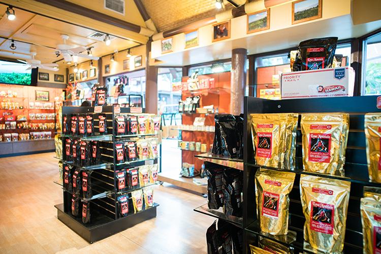 コーヒーのいい香りが漂う店内。