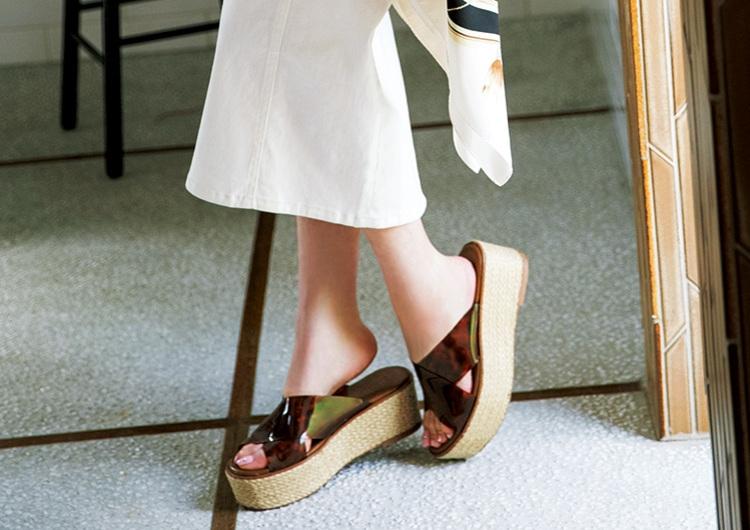 アラサーがこの夏押さえたい厚底靴特集♡楽ちんオシャレなスタイルUPコーデ3選