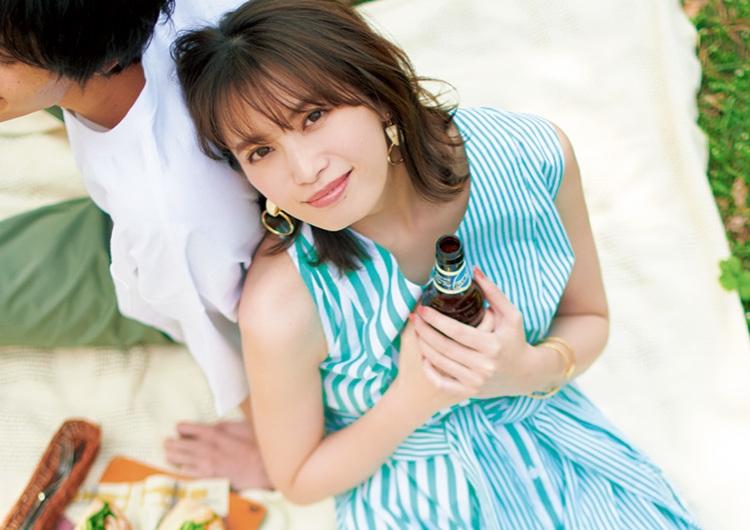 ピクニックデートでモテる服徹底調査♡爽やかなストライプ柄シャツワンピコーデ6選