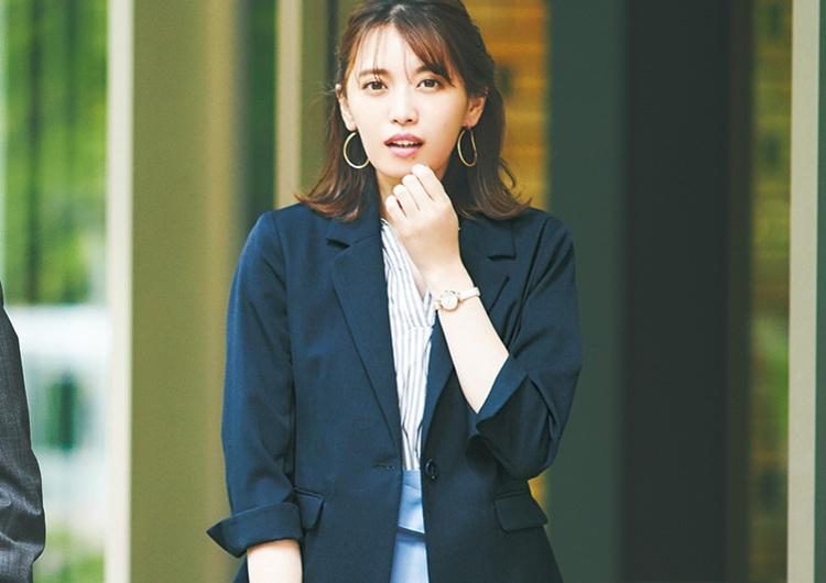 GUのリボン付きスカートは絶対買い♡爽やかブルーで好印象な夏の着回しコーデ4選