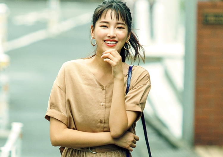 人気ブランドの通勤服は仕事もデートもOK♡キャメルで上品さを演出する最旬コーデ
