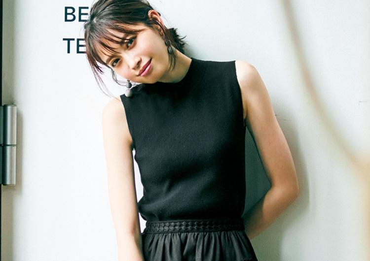 今流行のワントーン着こなし術♡甘め要素を加えてやりすぎない、大人の黒コーデ4選