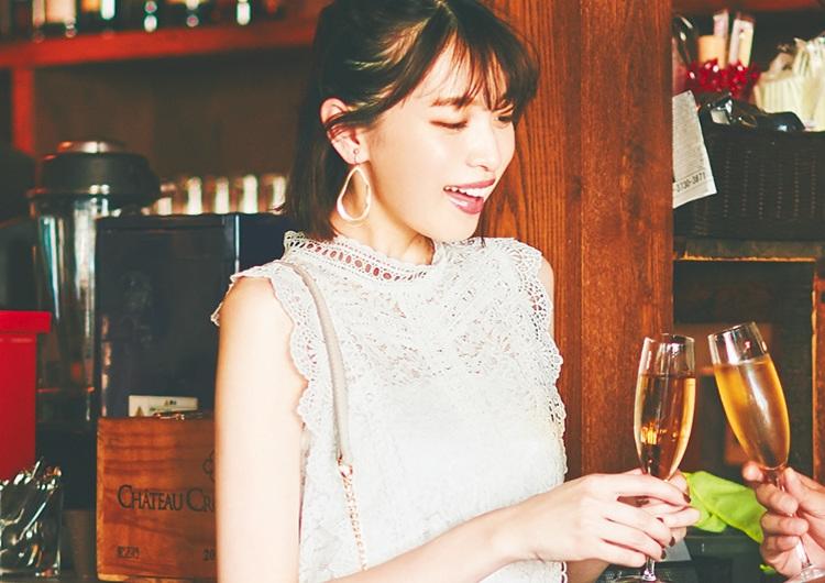 可愛さも上品さも手に入るレースブラウス♡オシャレで華やかなドレスアップコーデ