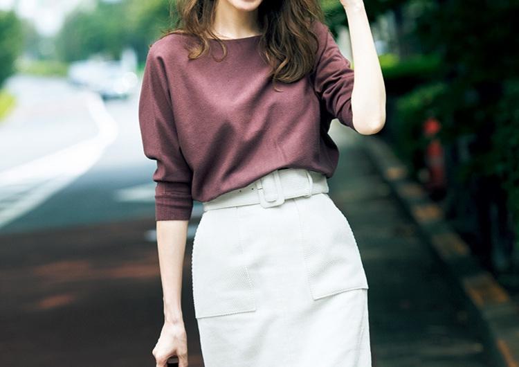 秋は誰でも似合う〝赤み系ブラウン〟にチャレンジ♡最旬配色でつくるトレンドコーデ