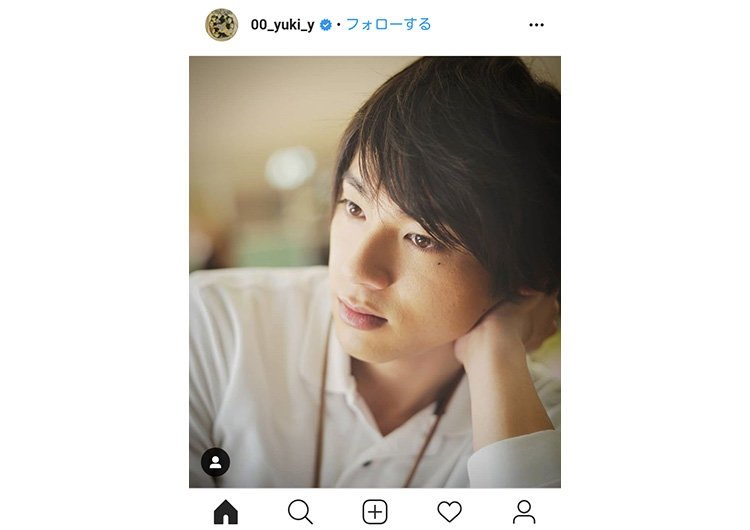 山田裕貴インスタグラムより
