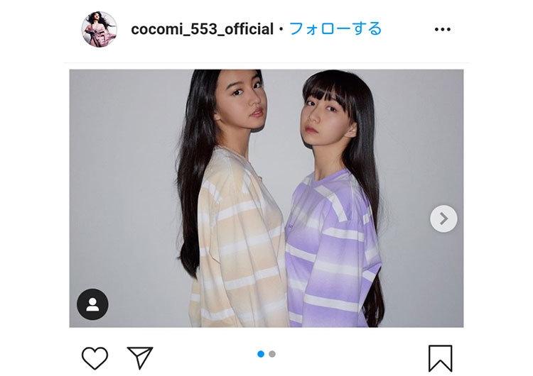 Cocomi インスタグラムより