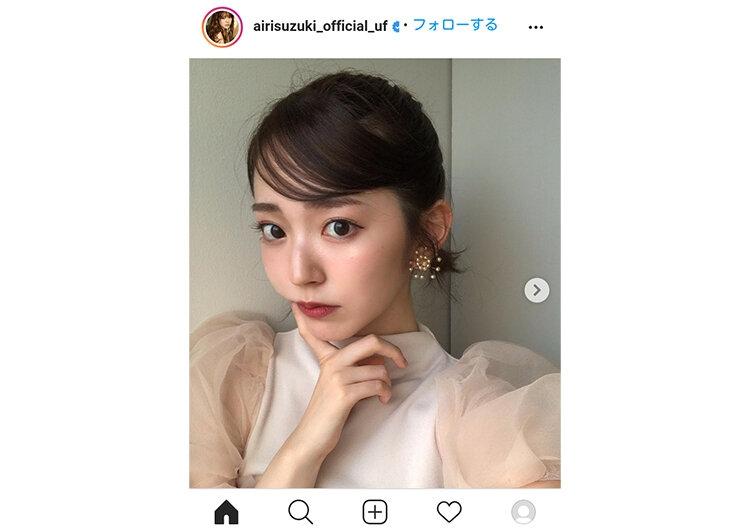 鈴木愛理インスタグラムより