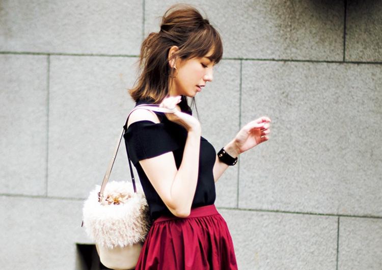 【毎日コーデ】ユニクロの〝高見え力がスゴい〟スカートで圧倒的華やかコーデ