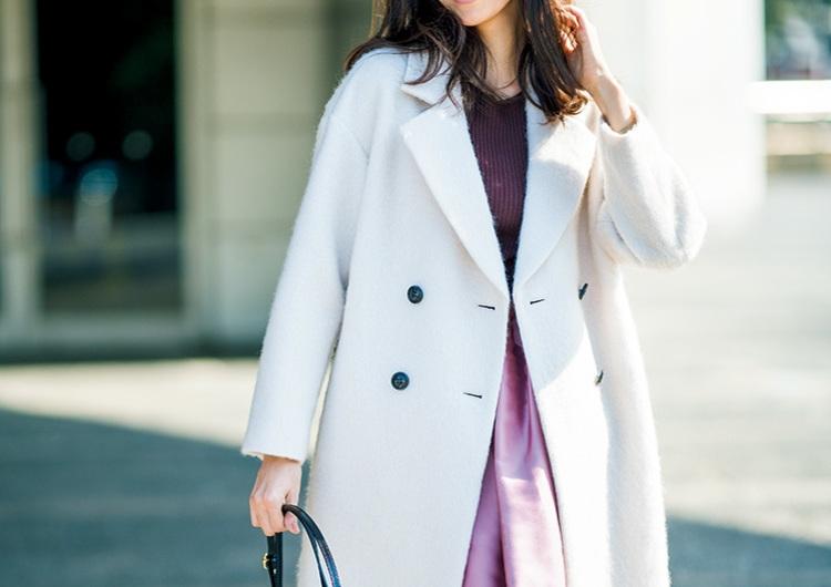 【毎日コーデ】とにかく使えるエクリュカラーのコート!大人ピンクに合わせるコーデ