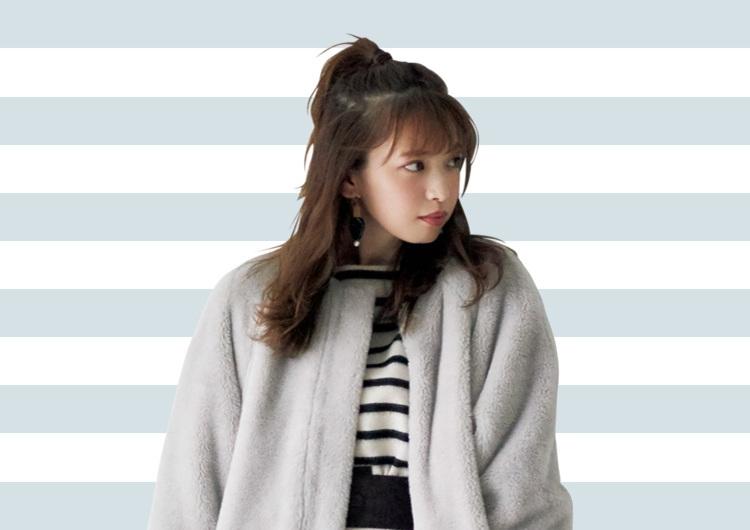 【毎日コーデ】ゴージャスなファーの着こなし術♡マダムにならないミニワンピコーデ
