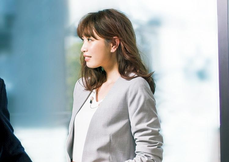 【毎日コーデ】GUのスカートはシルエットが美しい。出会いに備える甘め通勤コーデ