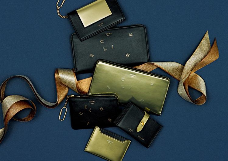 ゴールドの煌めきを味方に♡CÉLINE初、クリスマス限定のカプセルコレクション