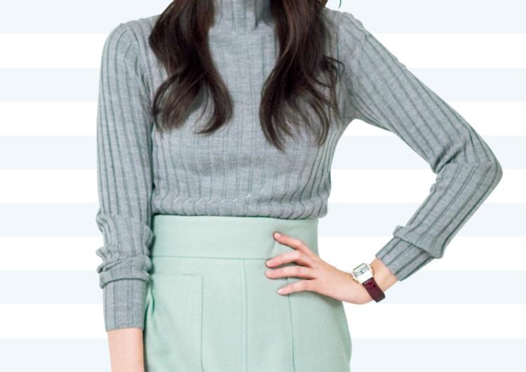 タイトスカートでシャキッといい女♡やる気と気合いを印象づける、通勤コーデ3選