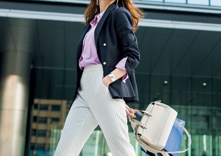08ec3320fd6c1 GUの白パンツはカッコよくて女らしい♡会社で一目置かれるシャキッ