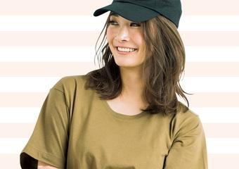 ユニクロ〝Tシャツワンピ〟を大人可愛く着こなす♡キャップを足す大人の休日コーデ