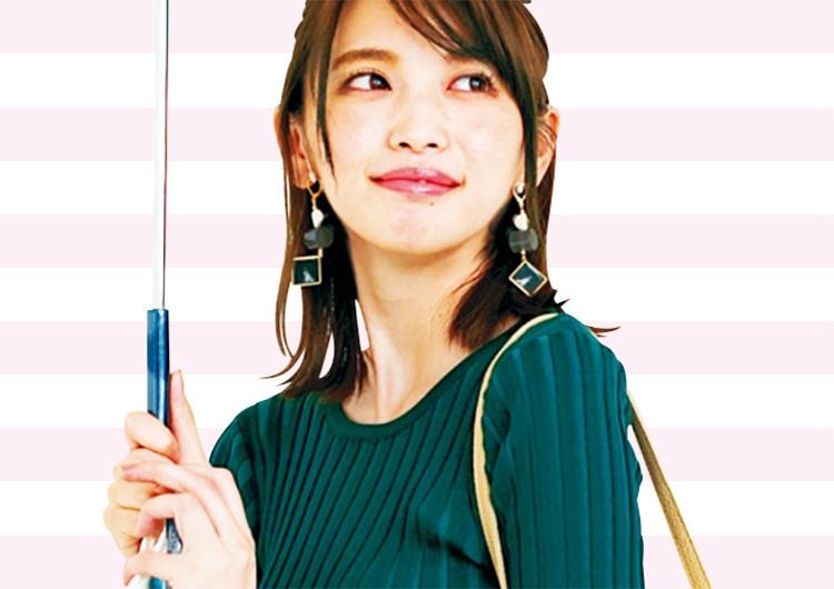 人気通販ブランド〝フィフス〟で買いたいグリーンのニット♡秋配色のトレンドコーデ