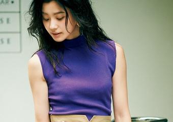 トレンドの〝ぶどうパープル〟は淡色合わせがオシャレ♡最旬配色の着回しコーデ3選
