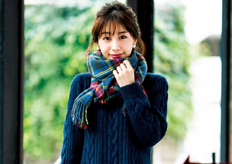小さめ女子代表、田中みな実の冬の鉄板着やせ術♡抜け感意識で着ぶくれさせない4選
