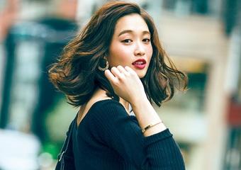 寒くても女っぽさを簡単に、色柄で華やかに見せる着こなし術♡おすすめ冬コーデ5選