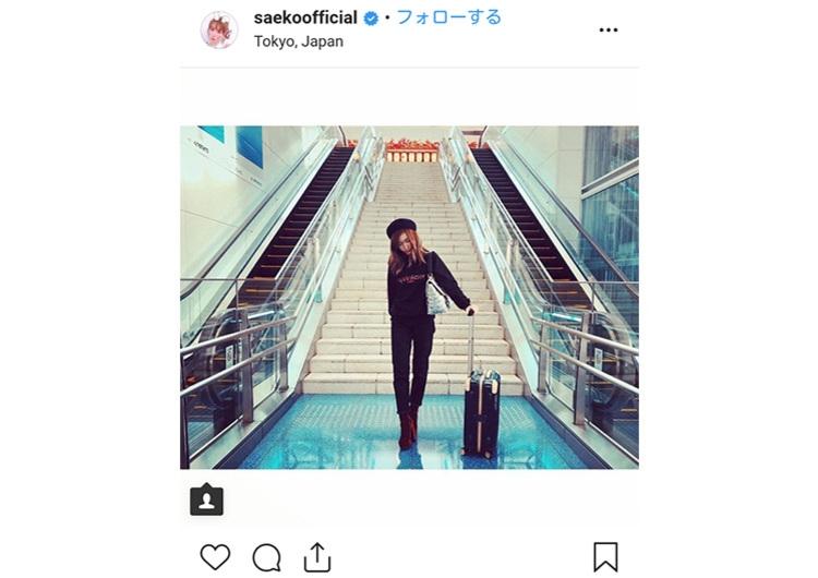 紗栄子 インスタグラムより