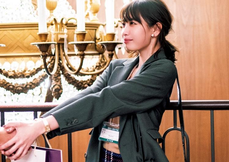 チェックのタイトスカートでオシャレ上級者♡ジャケット合わせできちんと見えコーデ