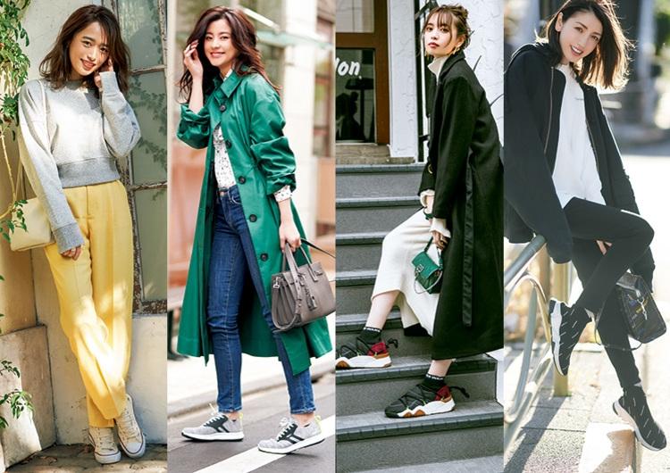 モデルお気に入りのスニーカースタイル特集♡〝私物だけ〟全身コーデ&履きこなし術
