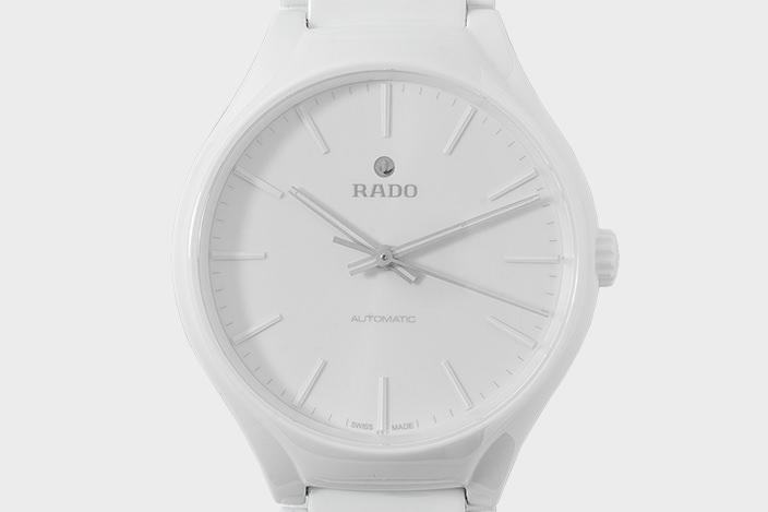 quality design ecfef cc01f 普通の腕時計とは異次元の装着感!薄くて軽い、かつ強い、RADO ...