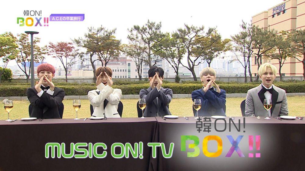 【撮り下ろし掲載中!】5/14放送の韓ON!BOX!!を少しだけ先行公開♡