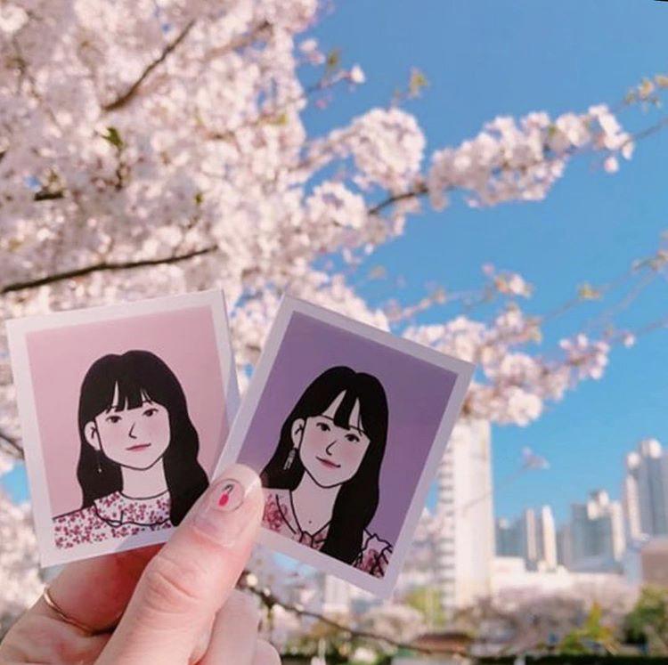 韓国・釜山(プサン)のホットプレイス!似顔絵を描いてくれる「マーガリン商店」