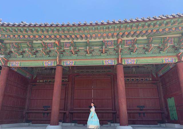 韓国旅行でおすすめ!伝統衣装チマチョゴリをレンタルして街を散策!@景福宮(キョンボックン)
