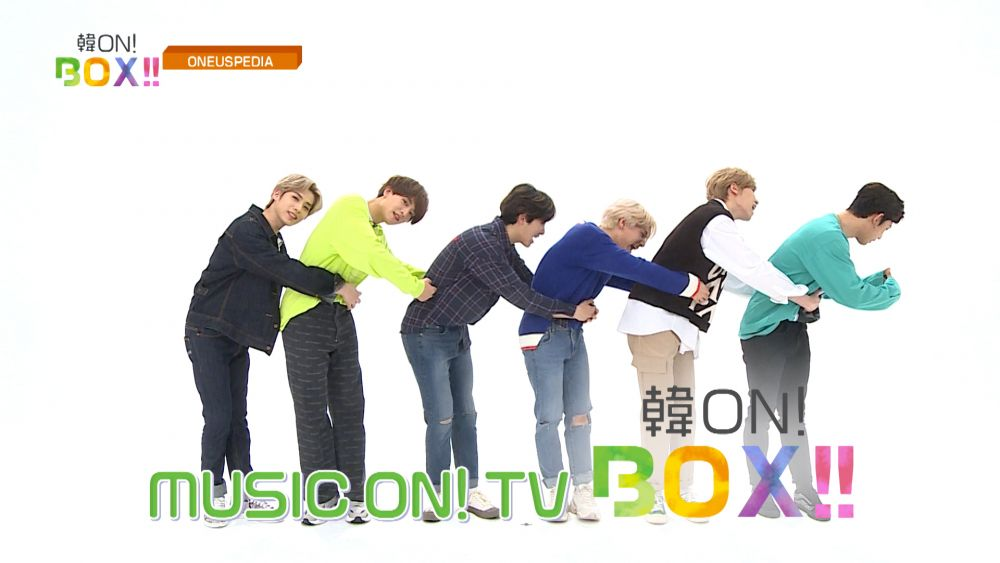 ONEUSの10/1の韓ON! BOX!!を一足お先にご紹介📸