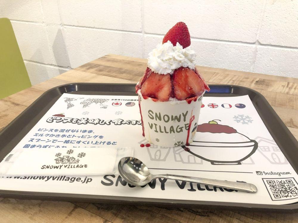 全世界で大人気!韓国の絶品パッピンス「SNOWY VILLAGE(スノーウィーヴィレッジ)」が原宿で♡