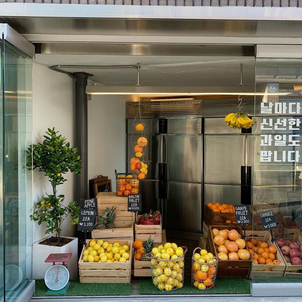 入り口は冷蔵庫!?韓国・東大門(トンデムン)にあるカフェ&レストラン「JEAN FRI GO(チャンプリゴ) 」🍒🍋🍊