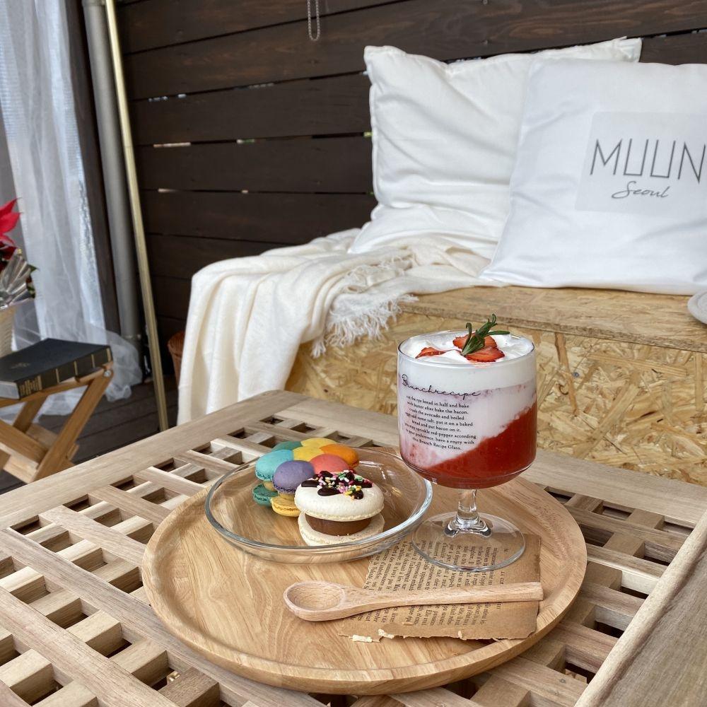 まるで韓国にいるみたい!東京・原宿で韓国のぽっちゃりマカロンが食べられるカフェ「MUUN seoul(ムーンソウル)」