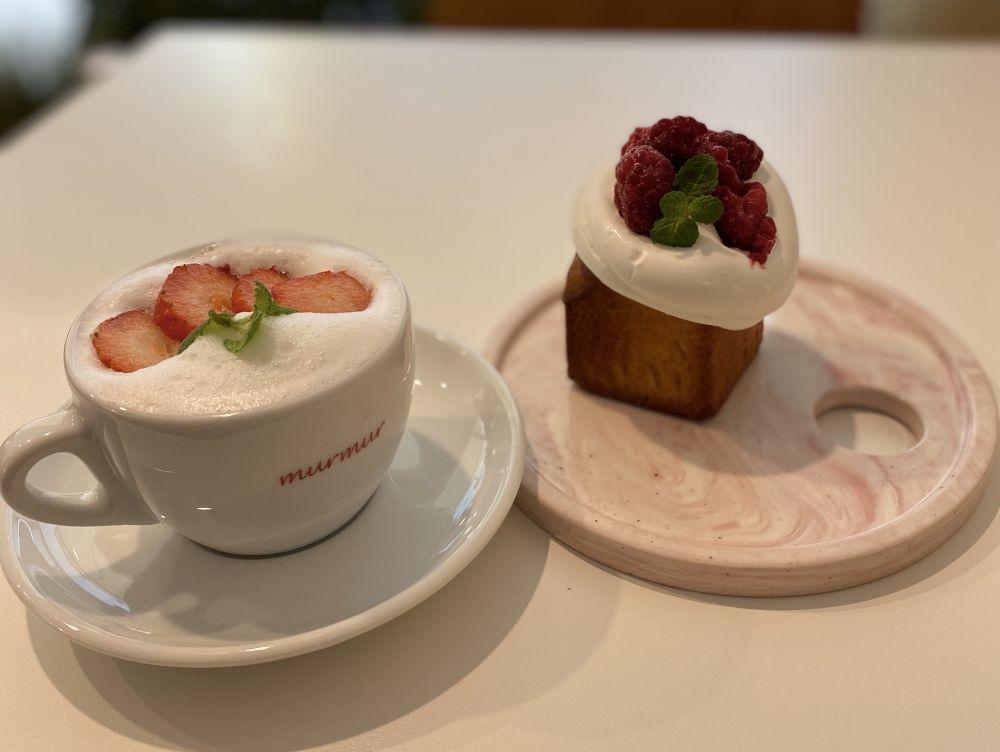 イチゴがおいしい今の季節に行きたい!韓国女子に大人気のカフェ「murmur(モモ)」!