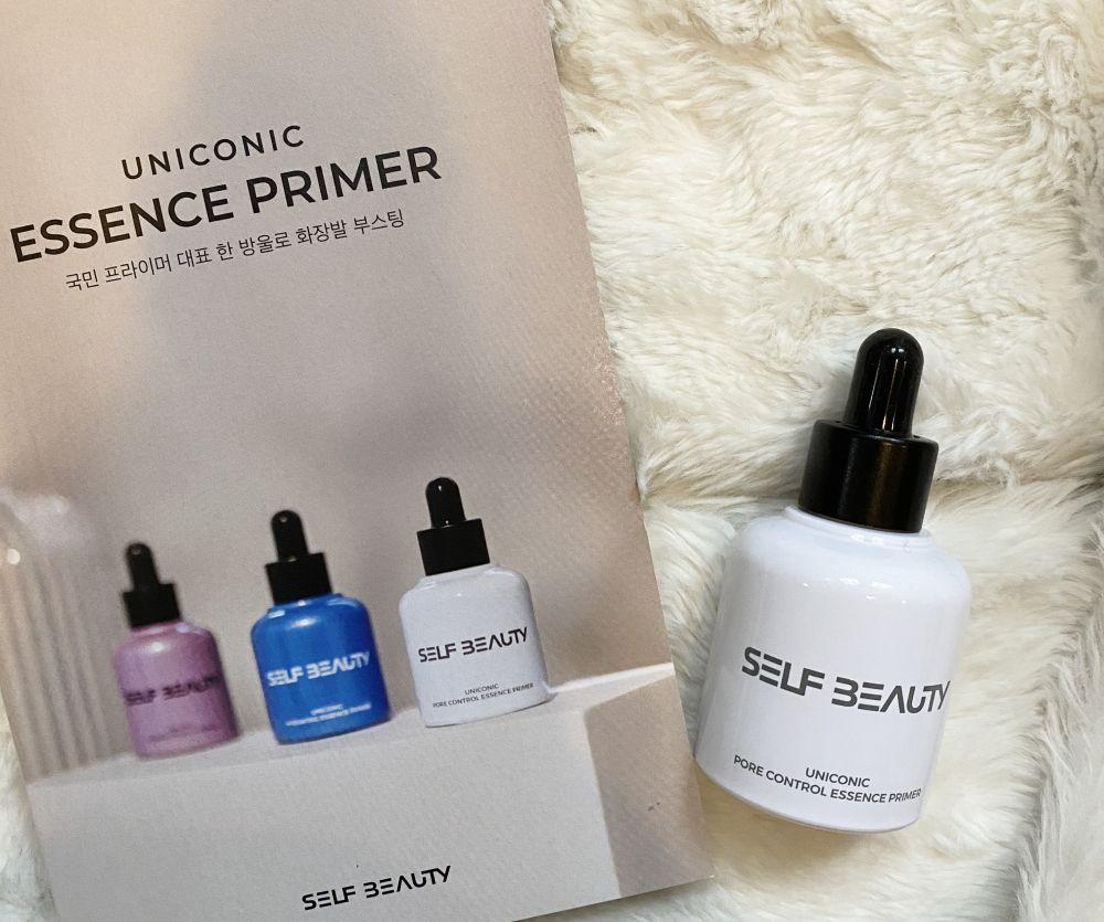 【使用レビュー】日本からでも買える!韓国コスメブランド「SELF BEAUTY(セルフビューティ)」の「UNICONIC ESSENCE PRIMER(ユニコニック エッセンスプライマー)」を使ってみた♡