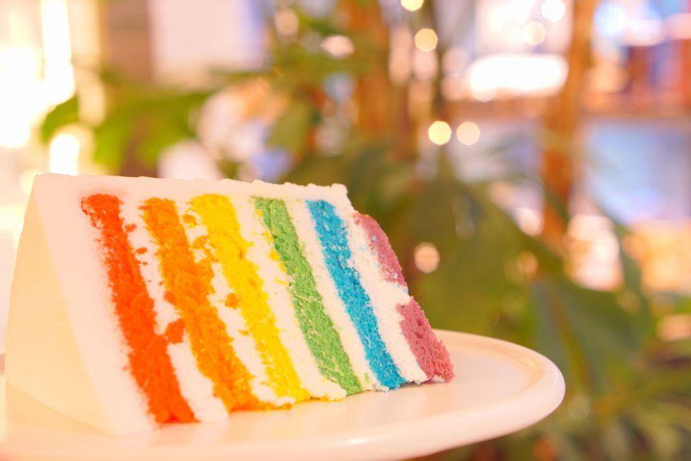 フォトジェニックなレインボーケーキは、仁川空港で!出発直前まで韓国スイーツを楽しもう!