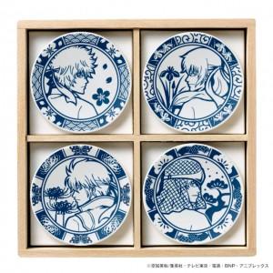 「銀魂 ~攘夷四季~ 美濃焼豆皿セット」