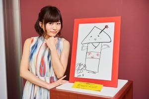 「八ツ橋舞妓ちゃん」の原画は、京都国際マンガミュージアムで京まふ最終日の9月18日まで展示されている。